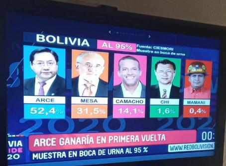 Socialista tem vitória avassaladora na Bolívia
