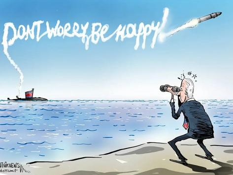 Míssil norte-coreano: 'Calma aí, Joe, é só um teste'
