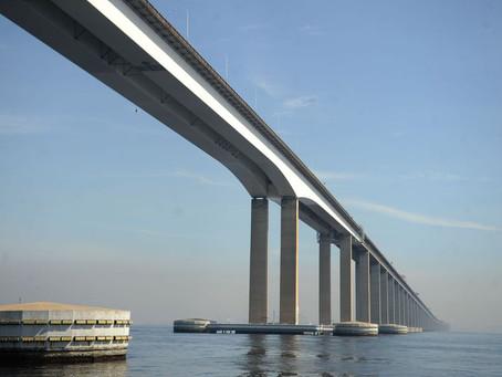 Ponte Rio-Niterói: proibição a veículos de carga