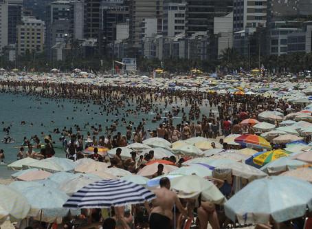 Calorão aumenta e deve chegar aos 44 graus no Rio