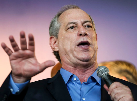 """Ciro sobre Bolsonaro: """"Que nojo!"""""""