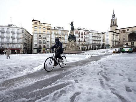 Teoria da conspiração com neve espanhola viraliza