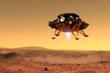 Rover chinês é segundo a pousar em solo marciano