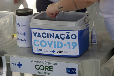 Por falta de doses, Rio suspende 3ª dose por quatro dias