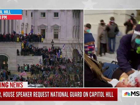 Mulher é baleada no Capitólio e Biden pede a Trump pronunciamento