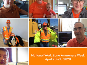 National Work Zone Awareness Week!