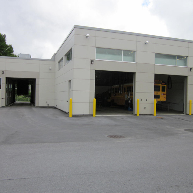 South Jefferson Central School District Bus Garage