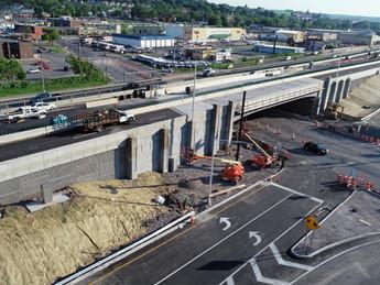 I-690 Beech Street Viaduct & Teall Avenue Interchange