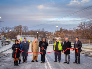 North Division Street Bridge Ribbon Cutting