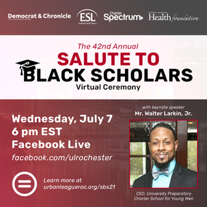 Urban League of Rochester Salute to Black Scholars