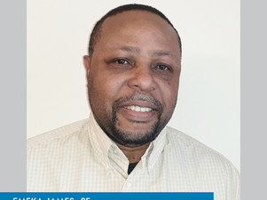Welcome Emeka James to our bridge inspection group!