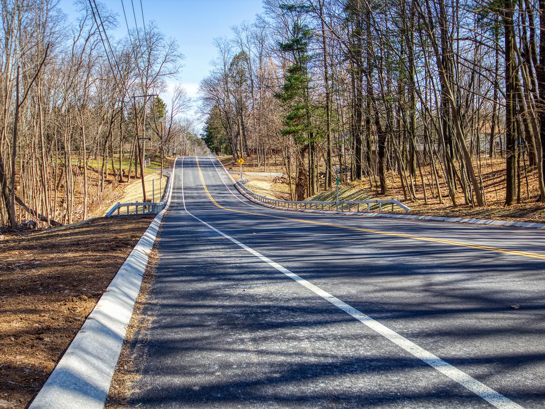 Lake Road Improvements,  Phase I
