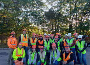 PDG Gives Back and Cleans Up as part of the Adopt-A-Highway Program