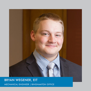 Congratulations to Bryan Wegener on his promotion!