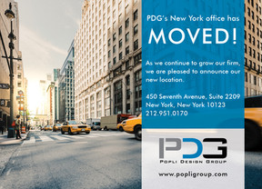 PDG's NYC office has moved!