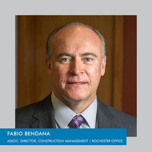 Fabio Bendana joins PDG as our Associate Director of Construction Management Services
