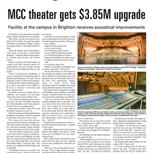 MCC Theater Project Featured in the RBJ