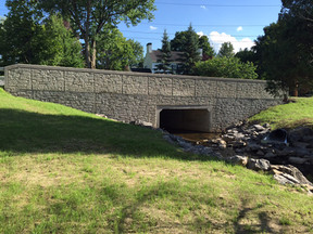City of Auburn, Walnut Street Culvert Ribbon Cutting