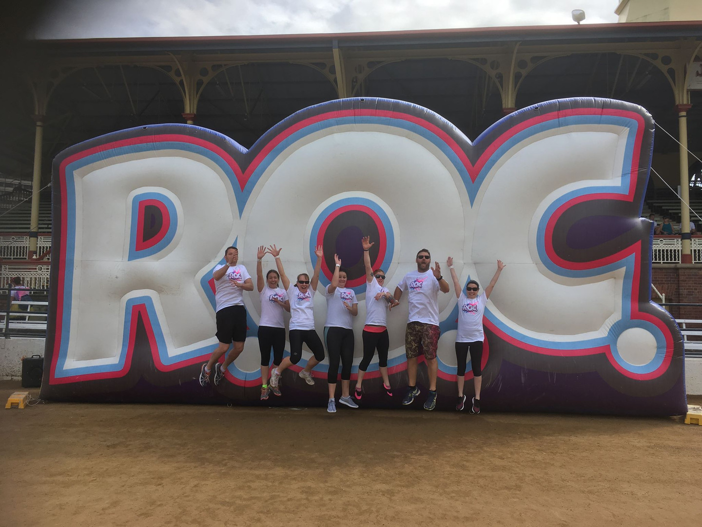 Bec With The ROC Team