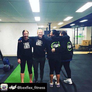 Bec and the True Grit Team