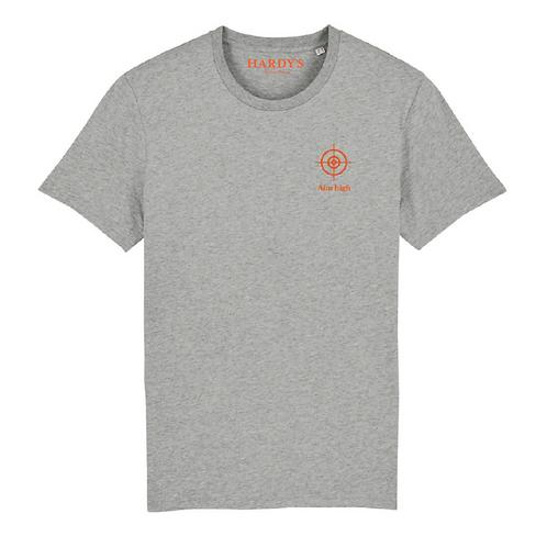 T-shirt Aiming high grey