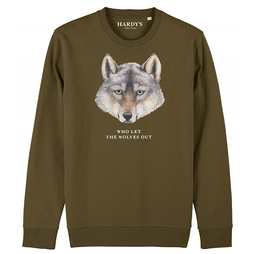 Sweater Who let the wolves out
