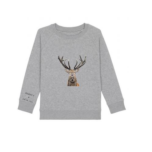 HARDY'S x SVD: kids sweater deer