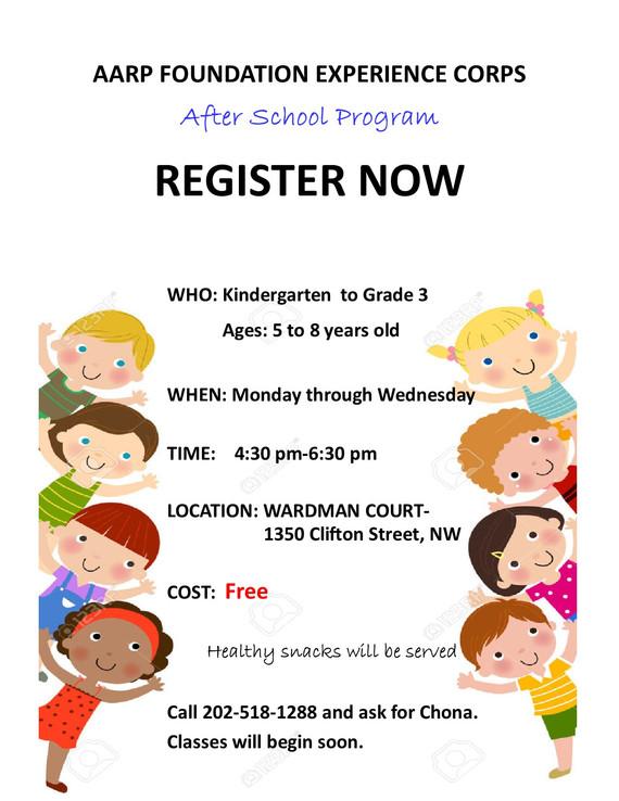 Free After School Program 2017