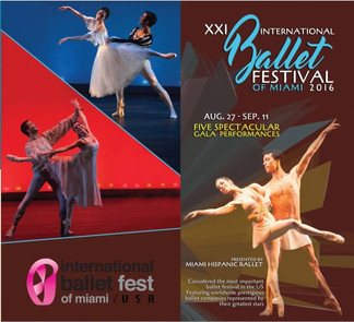 XXI INTERNATIONAL BALLET FESTIVAL OF MIAMI 2016