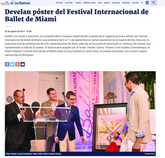 PRESS DIARIO LAS AMERICAS         (NEWS PAPER)