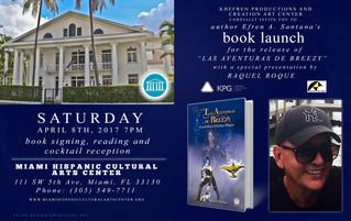 "Creation Art Center Presents: Book Launch ""Las Aventuras de Breezy"""