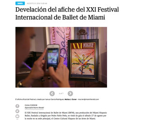 Press: El Nuevo Herald (News Paper)