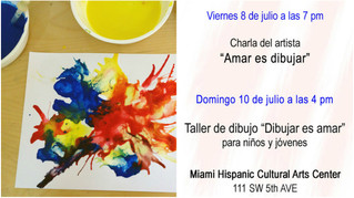 "Workshop Painting Workshop / Taller para Niños y Jóvenes ""Amar es dibujar"""