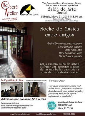 EVENTO: SALON DE ARTE RECITAL