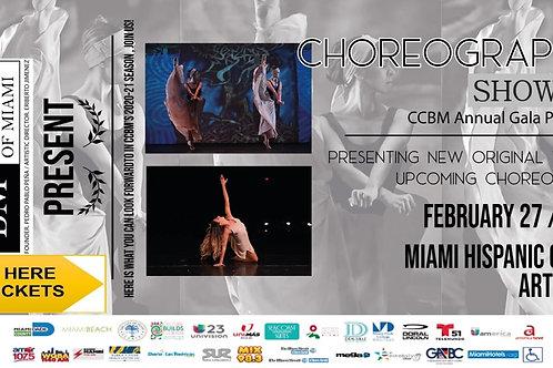 CCBM Choreographers Shocase