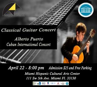 Classical Guitar Concert with Alberto Puerto