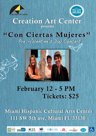 Con Ciertas Mujeres in Concert (Fifth Edition)