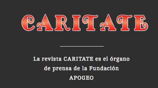 """Invitacion: Tertulia Apogeo """"Revista Caritate"""" Homenaje a la Soprano Alina Sanchez"""