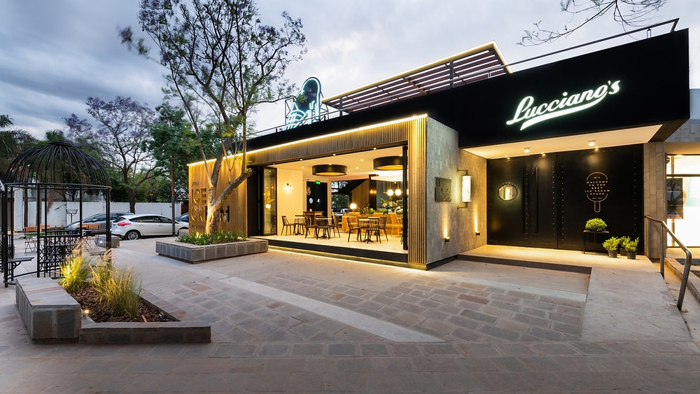 盧西亞諾Lucciano的冰淇淋旗艦店店面