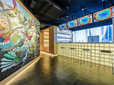 夢幻的婚紗店 光與畫的室內設計氣氛堆疊!