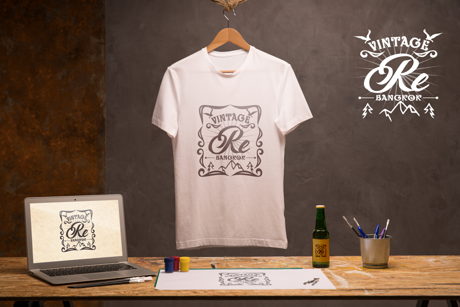泰國古著品牌設計