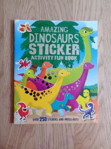 Amazing Dinosaurs Sticker Activity Fun Book
