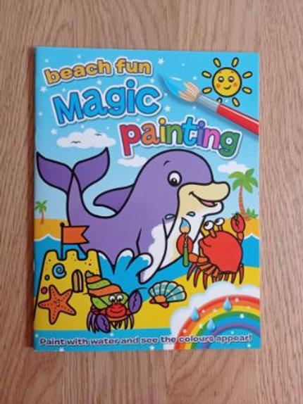 Beach Fun Magic Painting