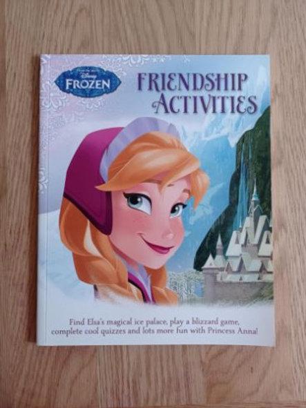 Frozen Friendship Activites