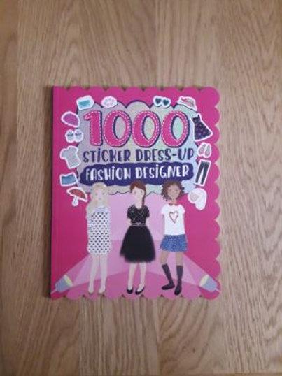 1000 Sticker Dress-Up Fashion Designer