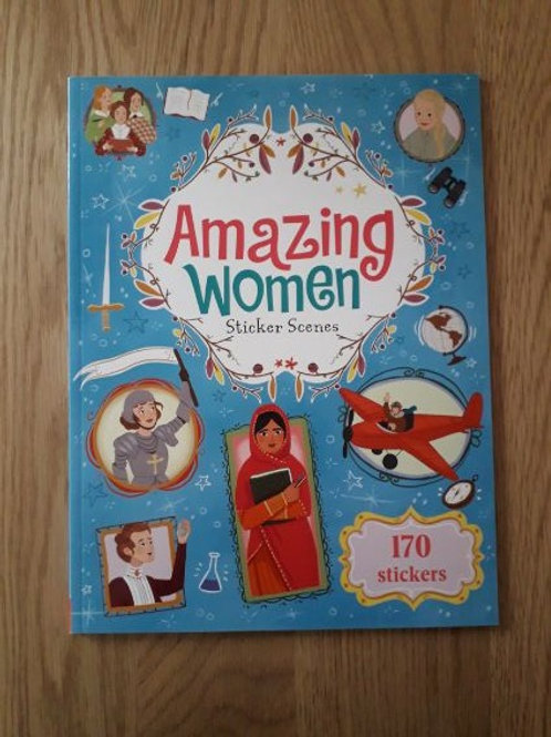 Amazing Women Sticker Scenes