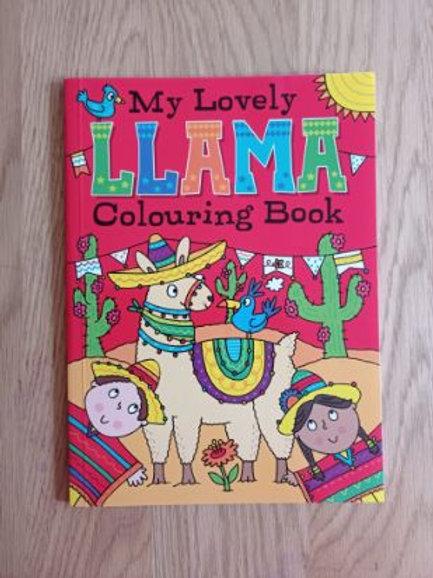 My Lovely Llama Colouring Book