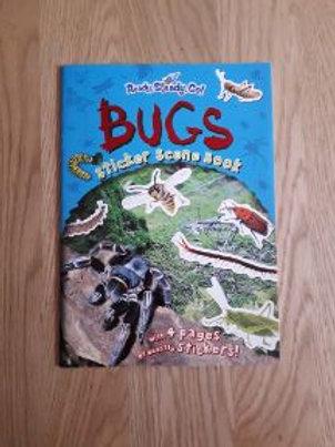 Ready Steady Go Bugs Sticker Scene Book