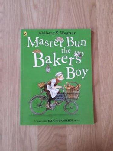 Master Bun the Baker's Boy (Happy Families)