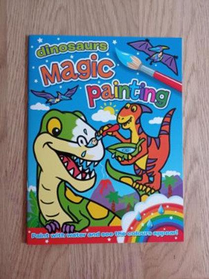 Dinosaurs Magic Painting
